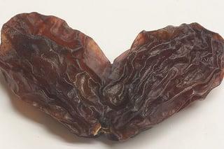 Shriveled up raisins like testicles
